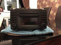 Mercedes Sprinter radio/cd player