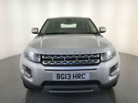 2013 RANGE ROVER EVOQUE PURE T SD4 AUTOMATIC DIESEL 190 BHP ESTATE FINANCE PX