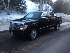 2014 Ford F-150 SuperCrew platinum Pickup  (REDUCED)$44,500