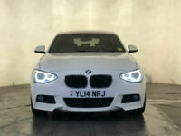 2014 BMW 120D XDRIVE M SPORT SAT NAV PREMIUM SOUND PARKING SENSORS SVC HISTORY