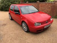 2003 GOLF 1.8 TURBO 114,000 MILES 2017 MOT PRIVATE PLATE - NEW DISCS AND PADS ALL ROUND ANNIVERSARY?