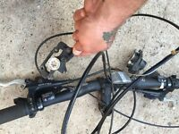 Peddle bike Hydraulic brakes x2