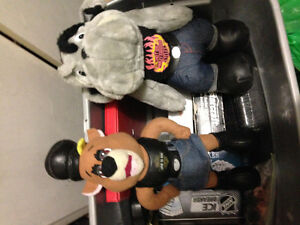 Selling Havey Davidson bear & Dog stuffers animal