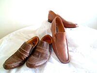 2 Pairs of Men's Shoes - Lambretta & Bronx. Sizes 40 & 41. Hardly Worn.