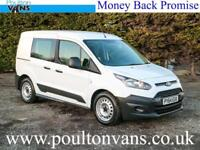 2015 (64) FORD TRANSIT CONNECT 220 L1H1 SWB 5 SEAT CREW CAB VAN 95PS, Small