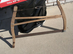 Antique Bucksaw GREAT FOR DISPLAY !!! VINTAGE SAW
