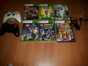 Xbox360 games, 2 controllers and headset