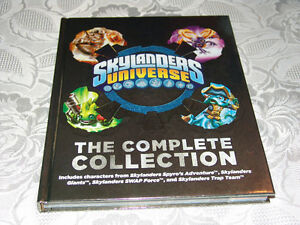 Skylanders Universe Book The Complete Collection Hard Cover