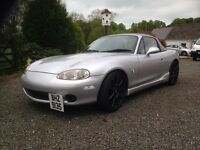 Mazda mx5 for sale LPG with hardtop