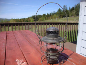 Antique C.N.R. Railway Lamp
