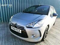2014 Citroen DS3 E-HDI AIRDREAM DSTYLE PLUS Convertible Diesel Manual