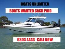 **URGENT** Boats Wanted - Quality Stock, Cash, Trade, Consignment Joondalup Joondalup Area Preview