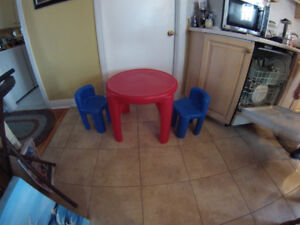 table et chaise little tikes pour enfant