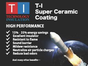 Space age Ceramic Thermal Insulation Coating