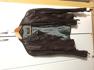 Danier Brown REAL Leather Jacket
