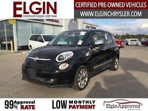 2015 FIAT 500L Lounge***Leather,Pano,Navi,B-up Cam*** London Ontario image 1
