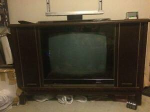 AWA deep image stereo tv in working order with remote control. Beenleigh Logan Area Preview