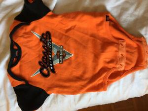 Harley Davidson onesie