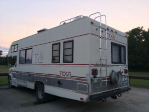 Easy fixer-upper Motor Home!
