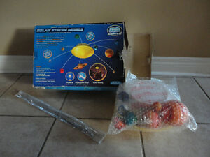 Solar system educational model toy kit London Ontario image 4