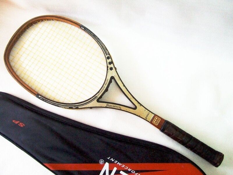 ~~~CoLLecTor's  VinTaGe  RuCanor Pro Wooden Tennis RacqueT   $188 negotiable~~~