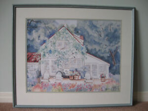 Forest Cottage Artwork by Helen Paul