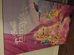 2 Laminés des princesses et de Barbie