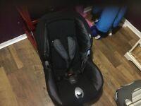 ISOFIX CAR SEAT. £30