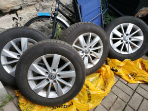 VW OEM Rims and Tires 195/65/R15 15 inch