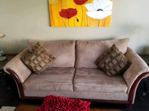 Microfibre Love Seat and Couch