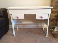 Children's shabby chic vintage desk/dressing table
