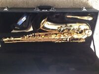 Alpine Tenor saxophone used for school