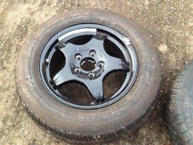 Jaguar wheel& tyre