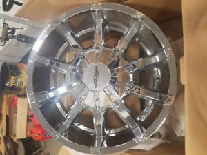 """ProComp 6050 20"""" Chrome Wheels 1999-2019 Ford"""
