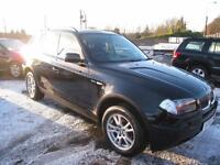 BMW X3 2.5i SE Automatic. Full Leather. Only 80000 miles