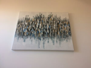 """48"""" x 36"""" Abstract Painting"""
