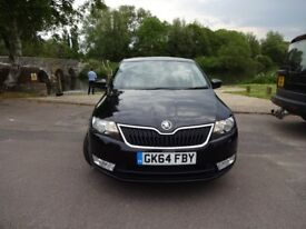 Skoda Rapid 1.2 TSI 105PS SE (black) 2014