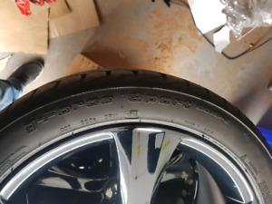 20 inch boss alloy trims wheels tires