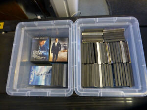 Collection of 76 Movies - Sold as a lot
