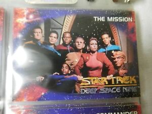 Star Trek Deep Space Nine Series1 Complete Base Set 100 CARDS