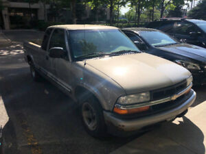 2003 S-10 Automatic Toyoto Pickup Truck - 1,500 OR BO