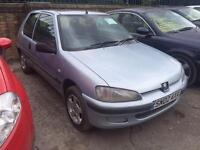 2002 Peugeot 106 1.1 Independence 3dr 3 door Hatchback