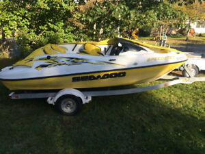 SeaDoo Speedster and trailer