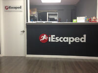 iEscaped, A Real Life Escape Game