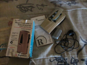 Radio Shack VOX Micro-45 Microcassette Voice Activated Recorder