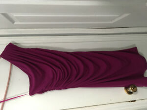 Beautiful single strap dress from Le chateau (size m) for sale