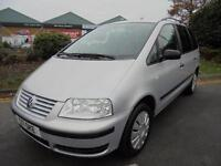 Volkswagen Sharan 2.0 SL MPV 5dr£2,499 VERY CLEAN CAR INSIDE AND OUT 2002