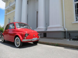 1971 Fiat 500 Coupe  4 speed for $10,000