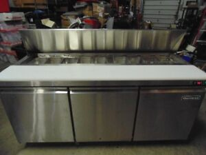 """72"""" Refrigerated Sandwich Prep Table"""
