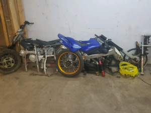 Pit bikes and parts
